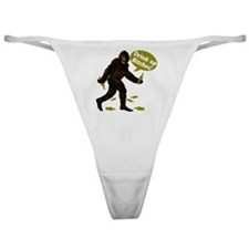 Drink Up Bitches Bigfoot Classic Thong