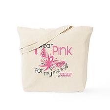 I Wear Pink 45 Breast Cancer Tote Bag