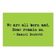 Beckett quote Postcards (Package of 8)