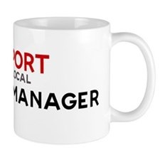 Support:  BUILDING MANAGER Small Mugs