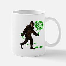 Happy St Patricks Day Bigfoot Mug