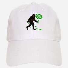 Happy St Patricks Day Bigfoot Baseball Baseball Cap