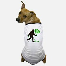 Happy St Patricks Day Bigfoot Dog T-Shirt