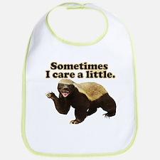 Honey Badger Does Care! Bib