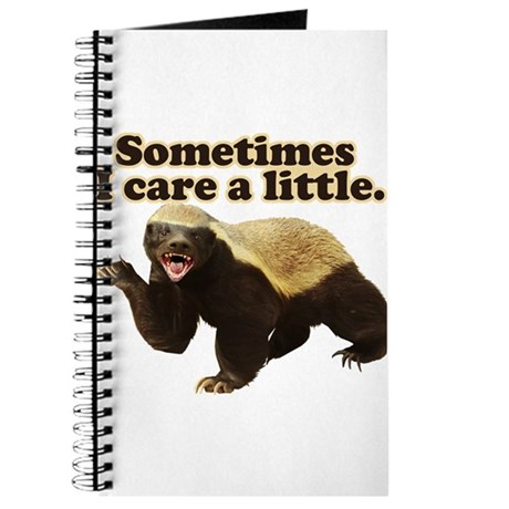 Honey Badger Does Care! Journal
