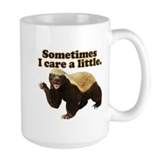 Honey Badger Does Care! Mug