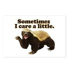 Honey Badger Does Care! Postcards (Package of 8)