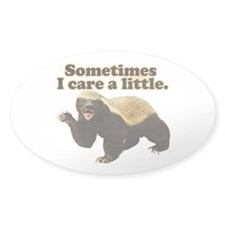 Honey Badger Does Care! Decal