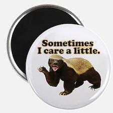 """Honey Badger Does Care! 2.25"""" Magnet (100 pack)"""