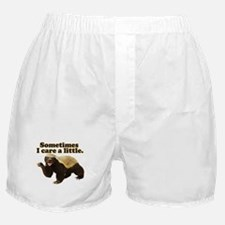 Honey Badger Does Care! Boxer Shorts