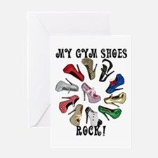 Cirlcle of Shoes Greeting Card