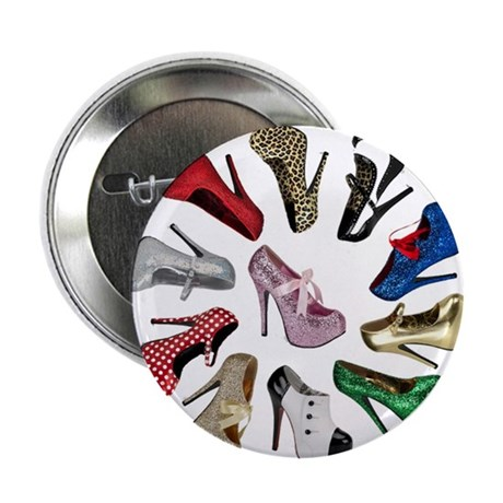 """Cirlcle of Shoes 2.25"""" Button"""