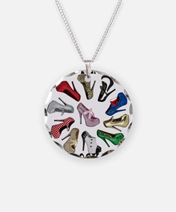 Cirlcle of Shoes Necklace