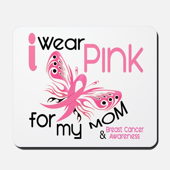 I Wear Pink 45 Breast Cancer Mousepad