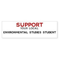 Support: ENVIRONMENTAL STUDI Bumper Bumper Sticker