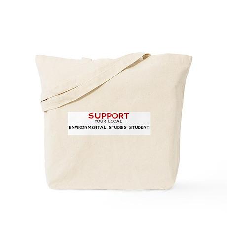 Support: ENVIRONMENTAL STUDI Tote Bag