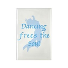 Dancing Frees Souls Rectangle Magnet