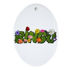 Bingo SummerTime Ornament (Oval)