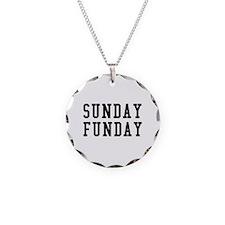 SUNDAY FUNDAY Necklace