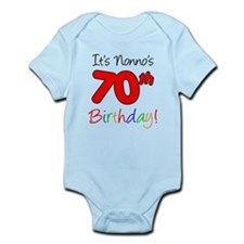 Nonno's 70th Birthday Infant Bodysuit