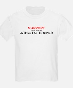 Support:  ATHLETIC TRAINER Kids T-Shirt