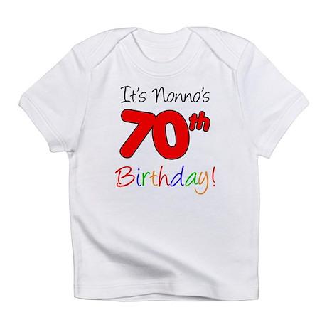 Nonno's 70th Birthday Infant T-Shirt