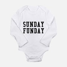 SUNDAY FUNDAY Long Sleeve Infant Bodysuit
