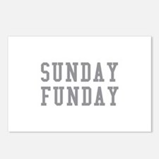 SUNDAY FUNDAY Postcards (Package of 8)