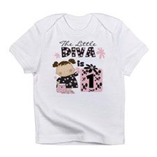 Cute First birthday diva Infant T-Shirt