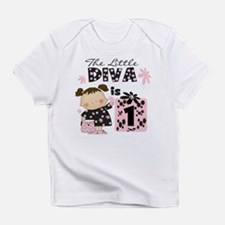 Funny Diva baby Infant T-Shirt