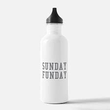 SUNDAY FUNDAY Water Bottle