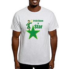Irish Upon a star Stpaddysday T-Shirt