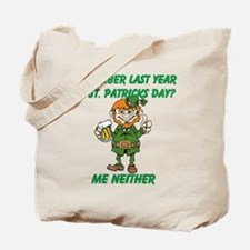 Funny St. Patrick's Day Quote Tote Bag