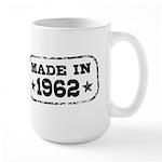 Made In 1962 Large Mug