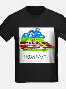 track i run fast T-Shirt