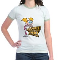 Oooh! What Does That Button Do? Jr. Ringer T-Shirt