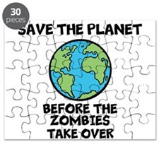 Save the Planet / Zombies Puzzle