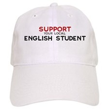 Support: ENGLISH STUDENT Baseball Cap