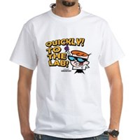 Quickly To The Lab! White T-Shirt