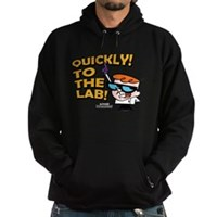Quickly To The Lab! Hoodie (dark)