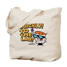 Quickly To The Lab! Tote Bag