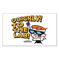 Quickly To The Lab! Decal