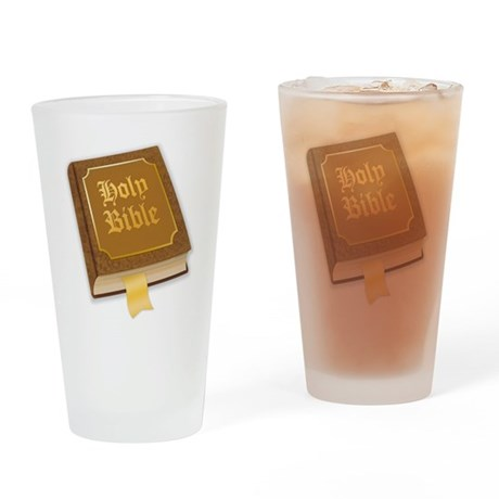 Holy Bible 77 Drinking Glass