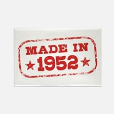 Made In 1952 Rectangle Magnet