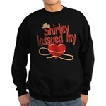 Shirley Lassoed My Heart Sweatshirt (dark)