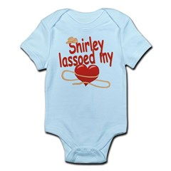 Shirley Lassoed My Heart Infant Bodysuit
