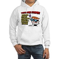 Dexter You Are Stupid! Hooded Sweatshirt