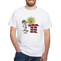Mandark Ha Ha Ha Ha! White T-Shirt