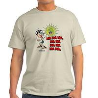 Mandark Ha Ha Ha Ha! Light T-Shirt
