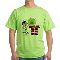 Mandark Ha Ha Ha Ha! Green T-Shirt